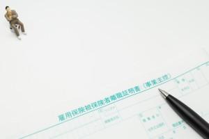 雇用保険の離職証明書と男性